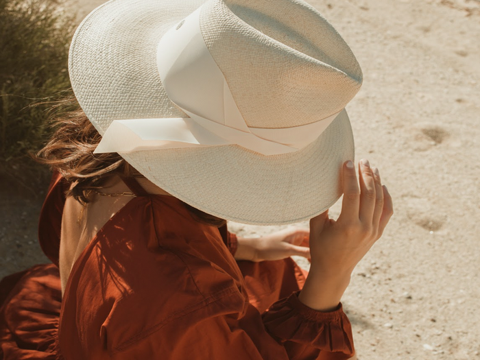 Gardenia Hat - Bone/Natural (pre-order)