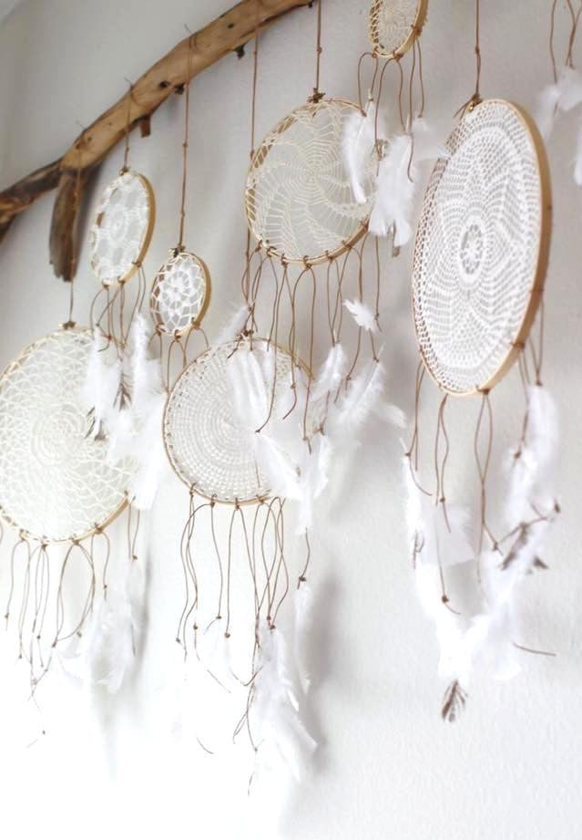 Make Your Own Dreamcatcher DIY Doily Dreamcatchers Instructions Delectable How To Make Doily Dream Catchers