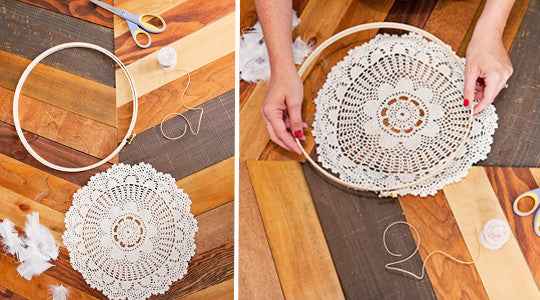 Make Your Own Dreamcatcher DIY Doily Dreamcatchers Instructions Awesome How To Make Doily Dream Catchers