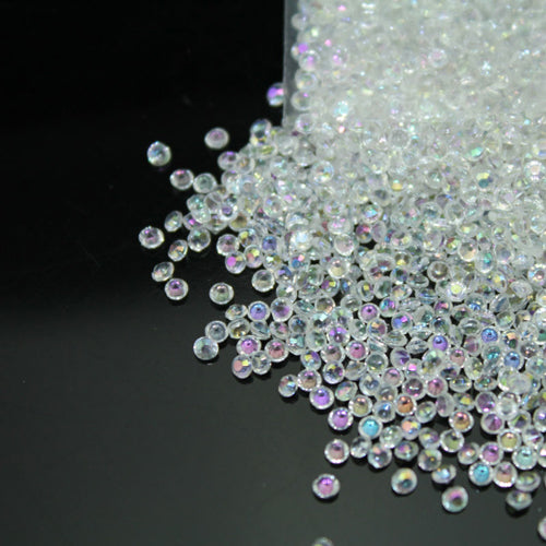 Diamond Confetti Crystal Diamante Acrylic Table Scatters - Clear AB
