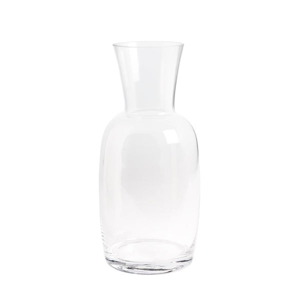 Glass Jocelyn Decanda Vase (14Dx30cmH) Clear