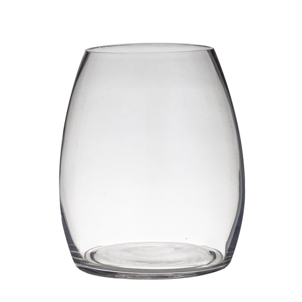 Glass Evelyn Vase (22Dx26cmH) Clear