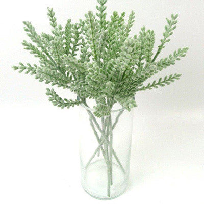 Artificial Succulent Leaf Greenery Stem