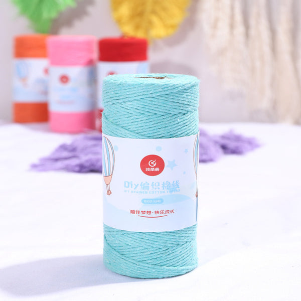 Bakers Cotton Twine 1mm Cord Spool 100 mtrs - Blue