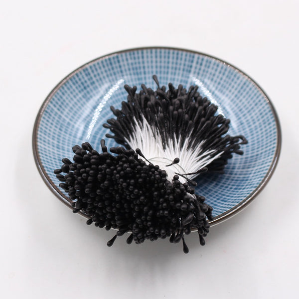 Artificial Flower Stamens 1.5mm - Black