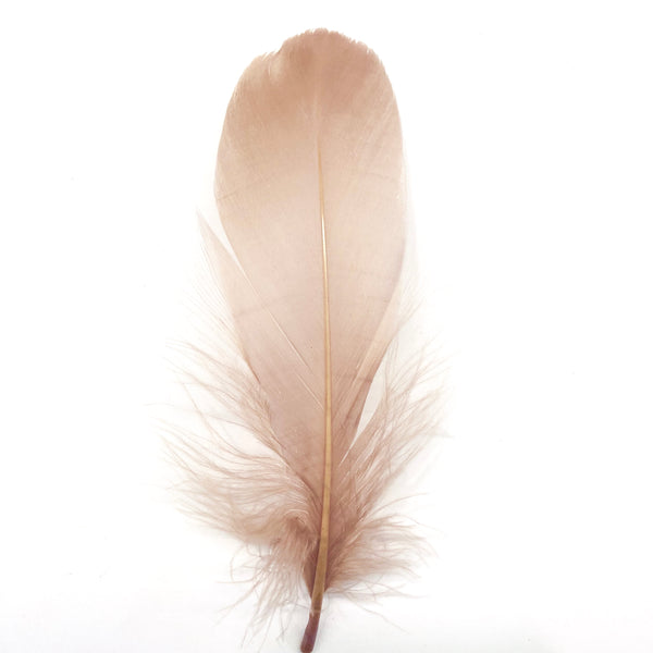Goose Nagoire Feathers 10 grams - Latte