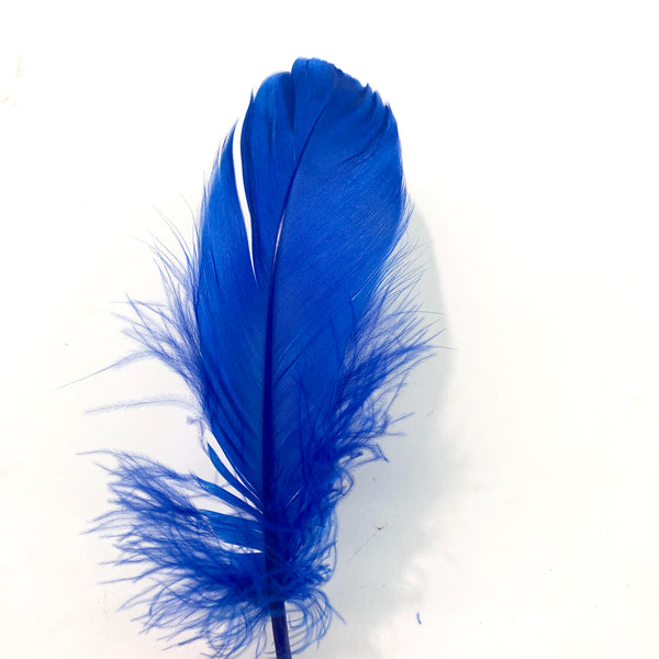Goose Nagoire Feathers 10 grams - Royal Blue