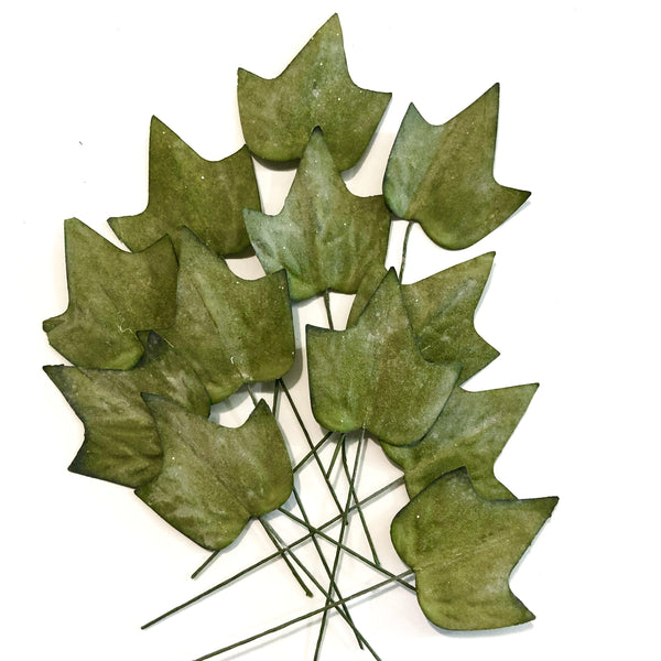 Artificial Nostalgic Wired Leaves - Maple Green