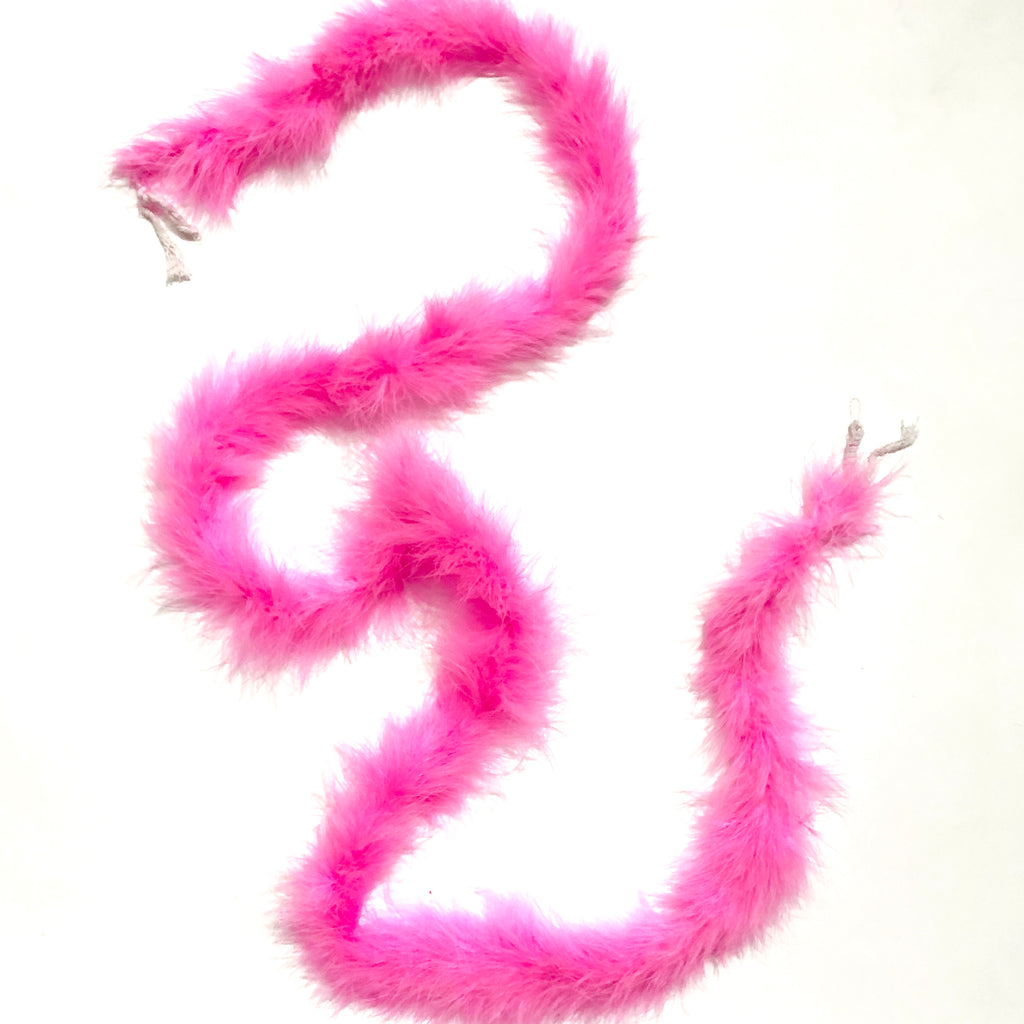 Marabou Feather Boa - Hot Pink