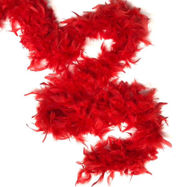 Chandelle Feather Boa 65 gram - Red