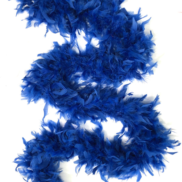 Chandelle Feather Boa 65 gram - Royal Blue