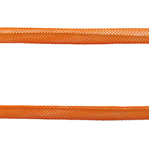 Tubular Tube Crinoline 8mm per metre - Orange