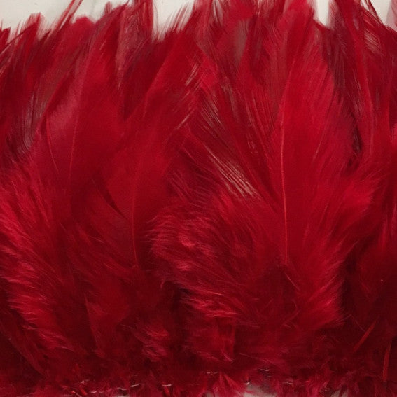 Red Hackle Strung per 10cm