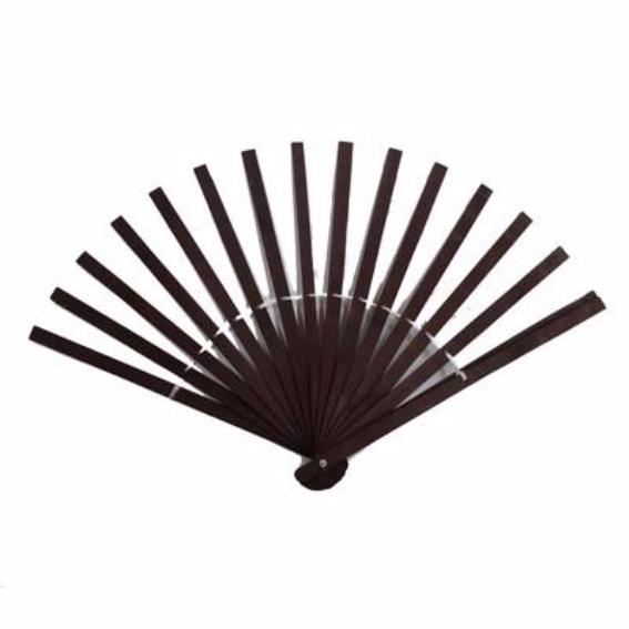 Wooden Fan Stave - Dark Brown