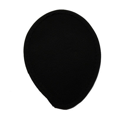 Black Woven Teardrop Fascinator Base
