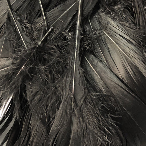 Goose Nagoire Feathers 10 grams - Black ((SECONDS))