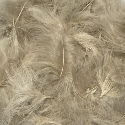 Itty Bity Marabou Feather Plumage 10 grams - Champagne