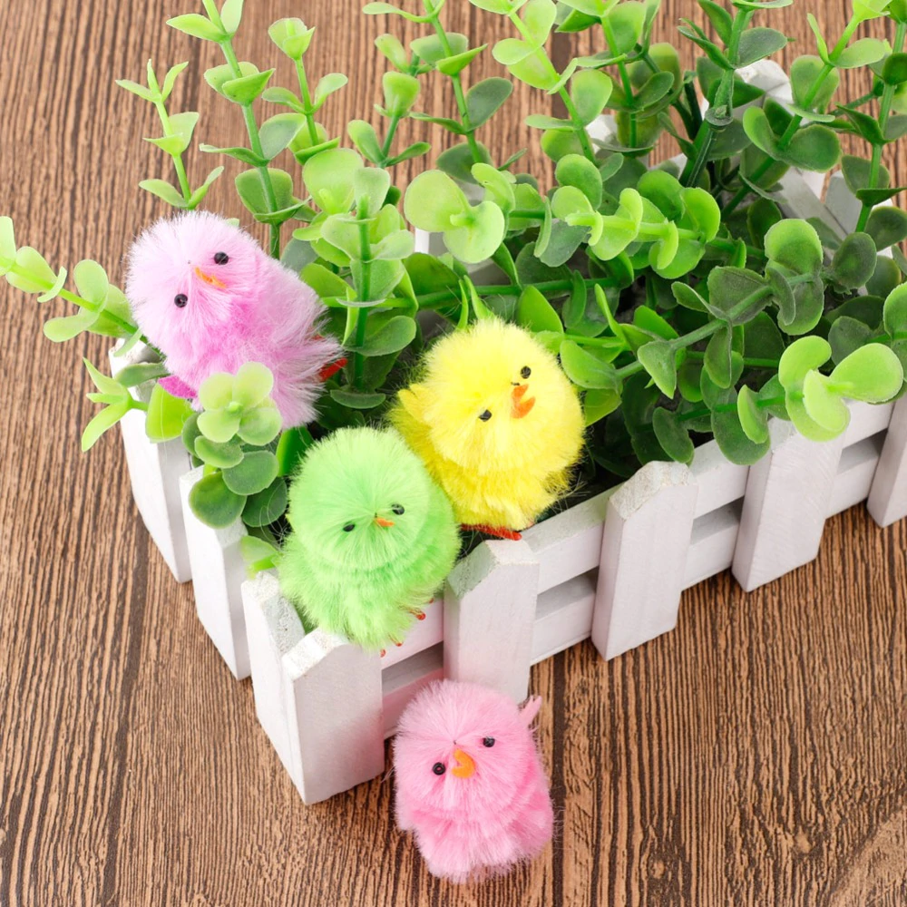 Mini Easter Chicken x 5 pcs - Assorted