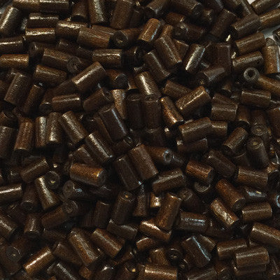 Style 22 Wooden Log Beads 10x5mm x 10