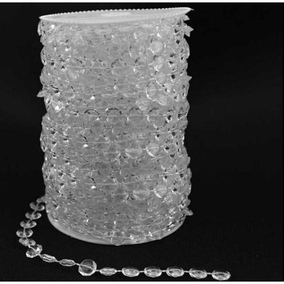 Clear Crystal Wedding Garland 10mm per 10 mts