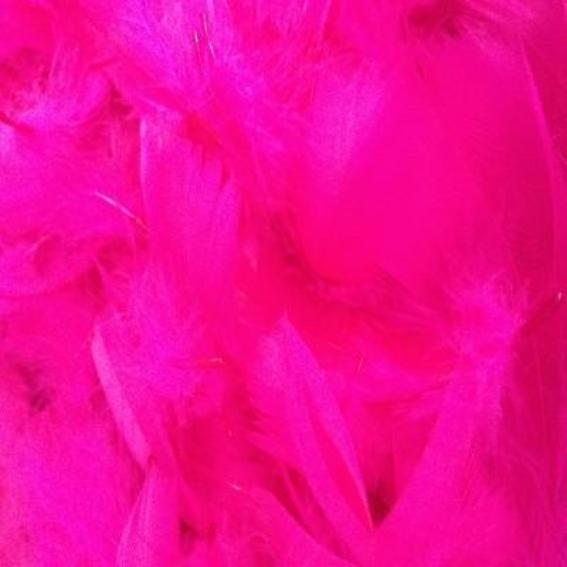 Goose Coquille Feathers 10 grams - Cerise