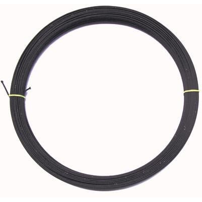 Black Rayon Covered Millinery Wire Gauge #18 p/mtr