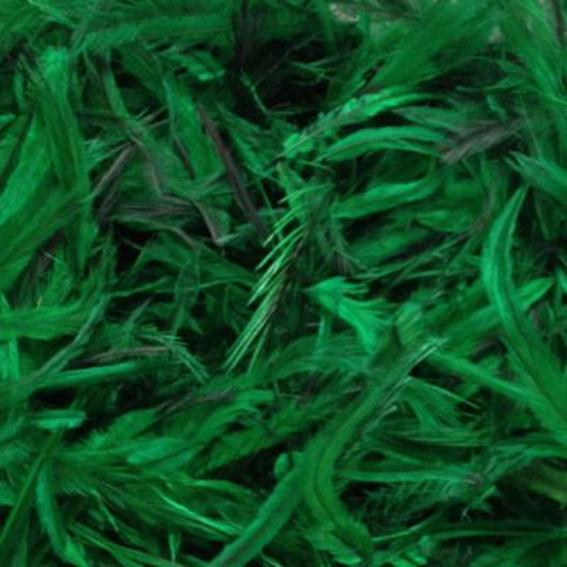 Emu Feathers 5 grams - Green