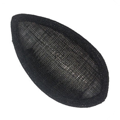 Black Eyeshape Fascinator Sinamay Base