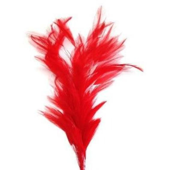 Red Coque Feather Tree