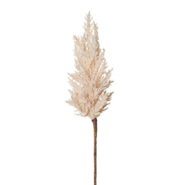 Artificial Pampas Plume Grass Spray - White Cream (Style 1)