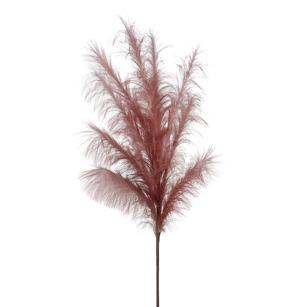 Artificial Pampas Plume Grass Spray - Mauve (Style 5)