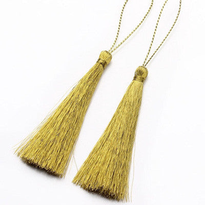 Gold Fan Tassel