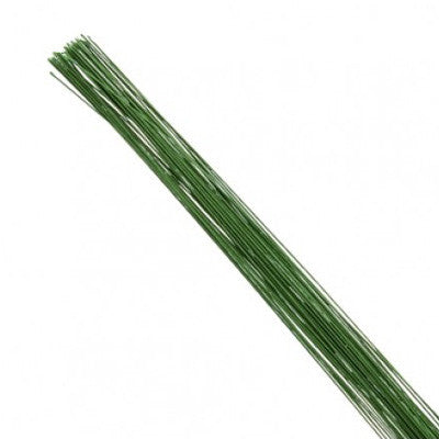 Floral Florist Craft Wire x 10 pcs - Green 22# Gauge