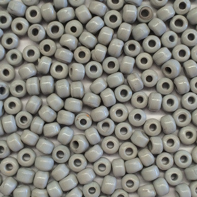Grey Crow Beads 9mm x 10
