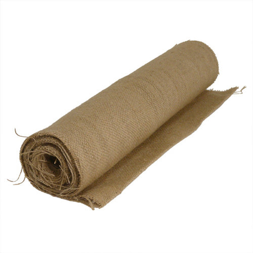 Hessian Jute Fibre Fabric Natural 35cm Wide - per metre