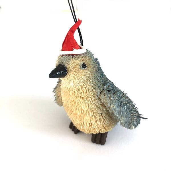 Christmas Tree Ornament Decoration - Penguin with Santa Hat
