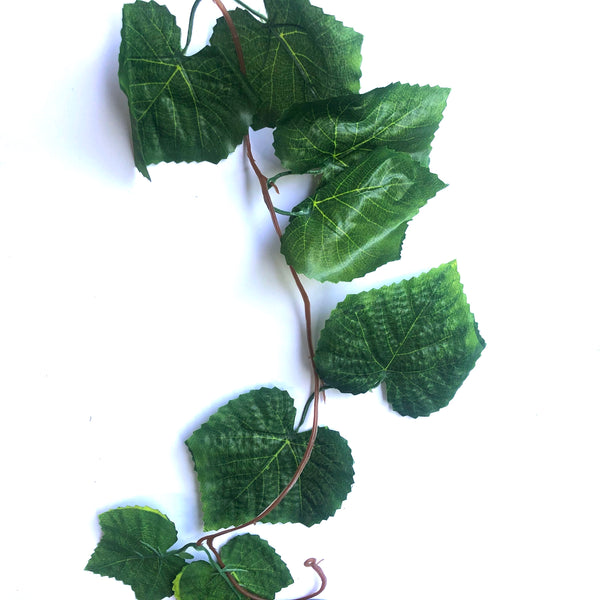Artificial Ivy Vine Leaf Greenery Garland x 5pcs - Style 3 ((BULK PACK))