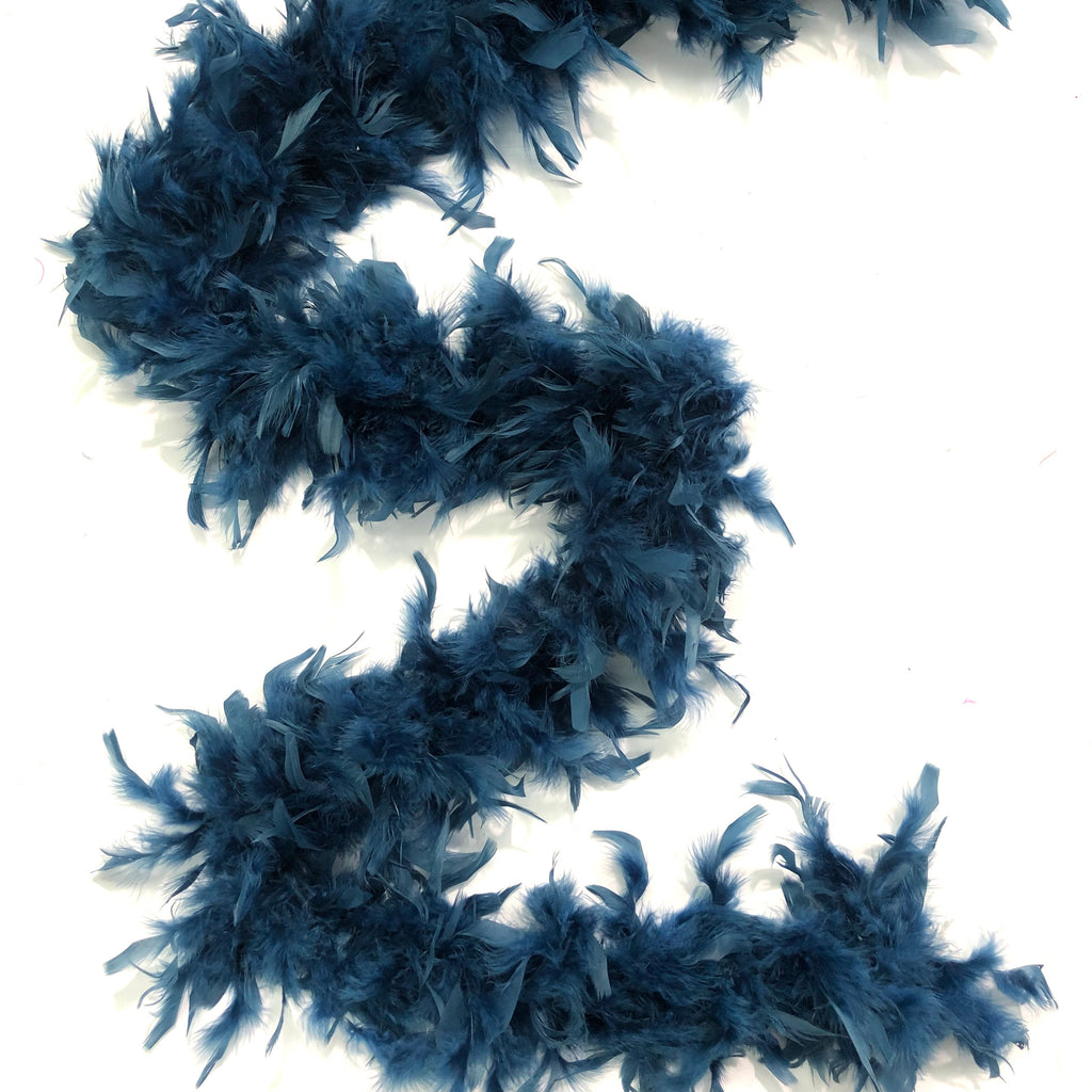 Chandelle Feather Boa 65 gram - Teal