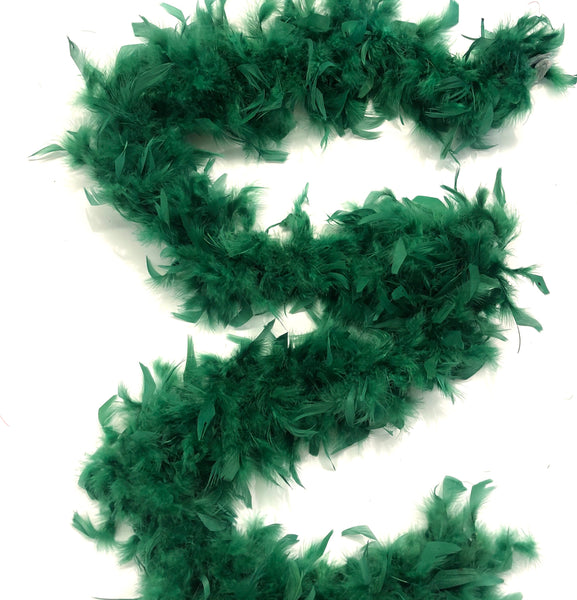 Chandelle Feather Boa 65 gram - Green