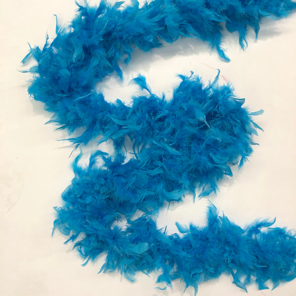 Chandelle Feather Boa 65 gram - Turquoise