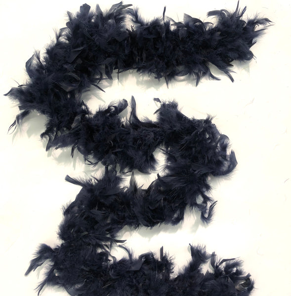 Chandelle Feather Boa 65 gram - Navy