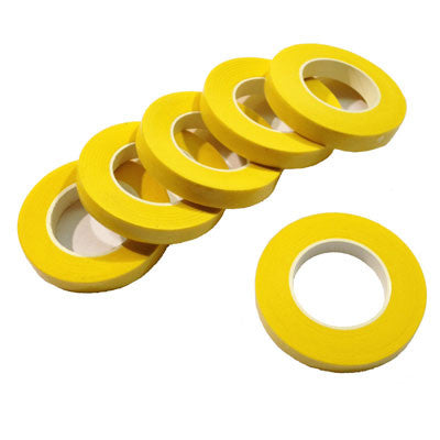 Florist Floral Millinery Craft Tape - Yellow
