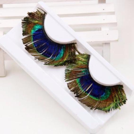 Natural Peacock Eyelashes
