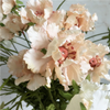 Artificial Silk Pinnacle Flower Spray - Vintage Peach