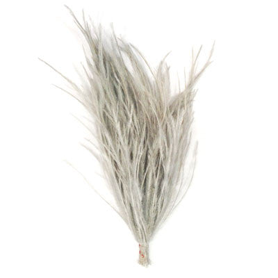 Ostrich Feather Pincher - Grey