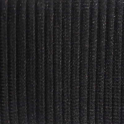 "Crinoline 15cm (6"") PLEATED per metre - Black"