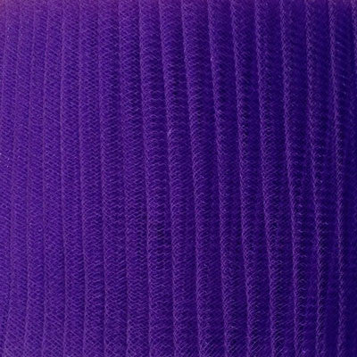 Purple Pleated Crinoline