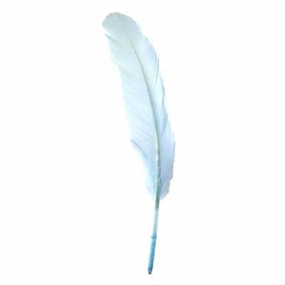 Goose Pointer Feathers 10 grams - Light Blue