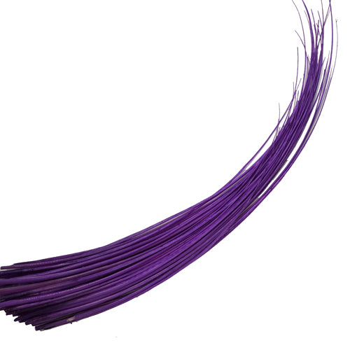 Ostrich Feather Quill Spine Barb - Purple