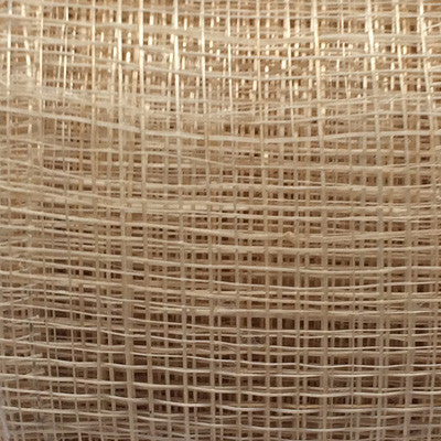 Sinamay Craft Ribbon Roll 10mtrs - Natural